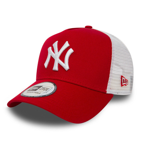e9e54fad22c54 New Era New York Yankees Clean A Frame Trucker Adjustable Cap - 11588488