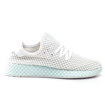 d1974a50acdcf adidas DEERUPT RUNNER W FOOTWEAR WHITE GREY ONE CLEAR MINT Shoes (CG6089)