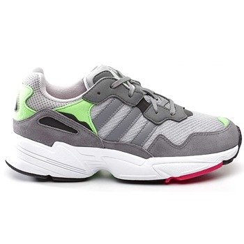 cecedd2ed100f adidas YUNG 96 J 802 GREY TWO GREY THREE SHOCK PINK shoes (DB2802)