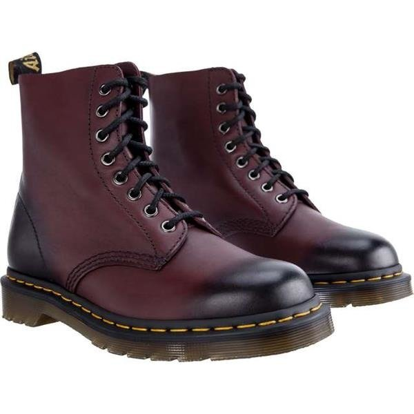 dr martens pascal cherry red antique temperley