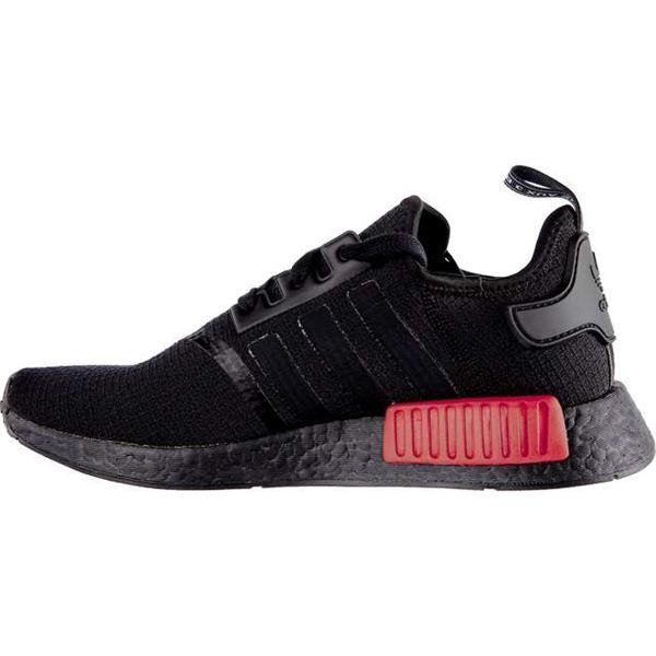 Men's Shoes Sneakers Adidas NMD_R1 CORE BLACK CORE BLACK LUSH RED