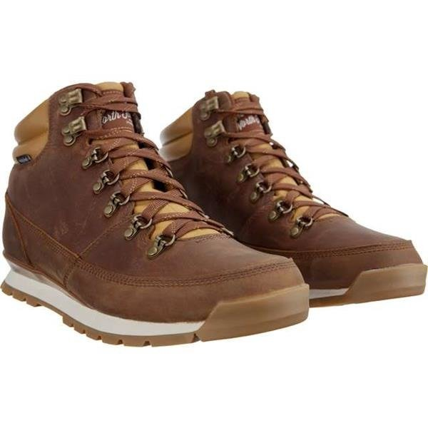 8b8a0c061 Men's Winter Boots The North Face MEN'S BACK TO BERKELEY REDUX LEATHER 090  DIJON BROWN TAGUMI BROWN