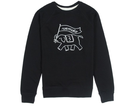 Men's  Sweatshirt Wemoto - Toby Embro Black
