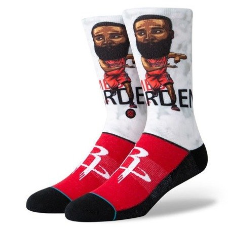 Stance NBA Harden Big Head Socks - M548A19HAR