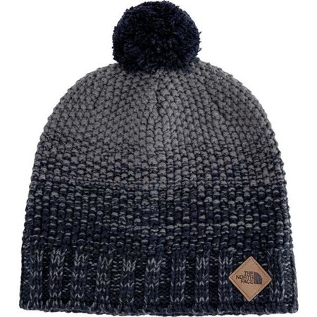 The North Face ANTLERS BEANIE URBAN NAVY TNF M GREY HEATHER