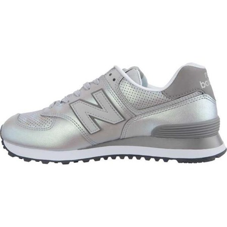 atlántico Laos junto a  Women's Shoes Sneakers New Balance WL574KSC SHEEN PACK RAIN CLOUD WITH  MARBLEHEAD - KicksDistrict.de