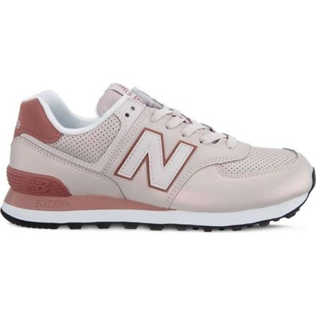 Women's Shoes Sneakers New Balance WL574KSE SHEEN PACK CONCH SHELL WITH DARK OXIDE