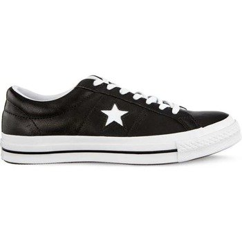 Converse ONE STAR OX C163385 BLACK WHITE WHITE Herrenschuhe Sneaker 6cd3c60843b