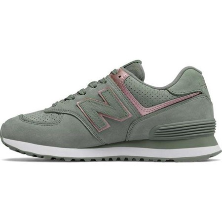 Damenschuhe Sneaker New Balance WL574NBL SEED WITH CHAMPAGNE METALLIC