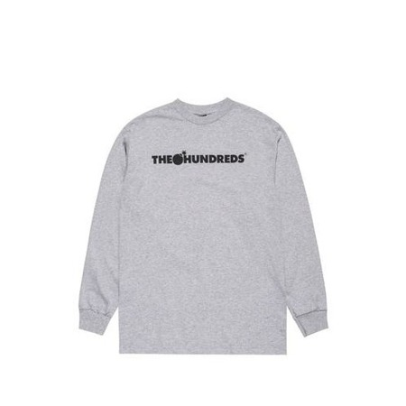 Herren Longsleeve  The Hundreds - Forever Bar LS