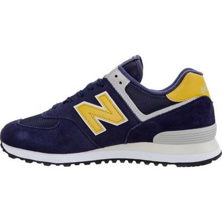 Herrenschuhe Sneaker New Balance ML574SMB PIGMENT WITH BRASS