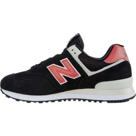 Herrenschuhe Sneaker New Balance ML574SMP BLACK WITH POMELO