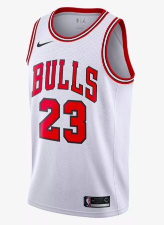 Michael Jordan Association Edition Swingman Jersey NBA Chicago Bulls 23