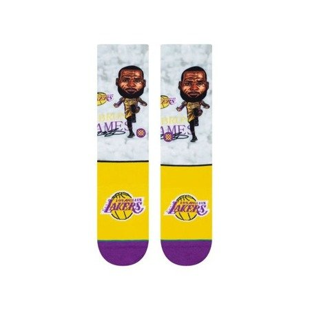 Stance NBA Lebron Big Head Socken - M548A19LEB