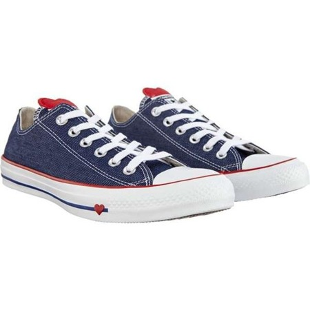 Buty Converse Chuck Taylor All Star INDIGO ENAMEL RED WHITE