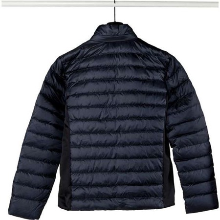 EA7 Emporio Armani TESSUTO DOWN JACKET 1578 NIGHT BLUE - Kurtka Męska