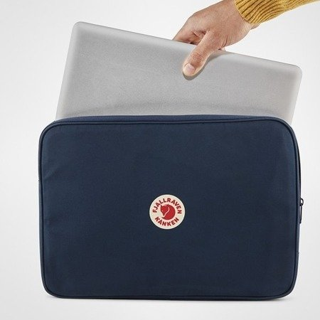 "Fjallraven Kanken Laptop Case 15"" Black 23786-550"
