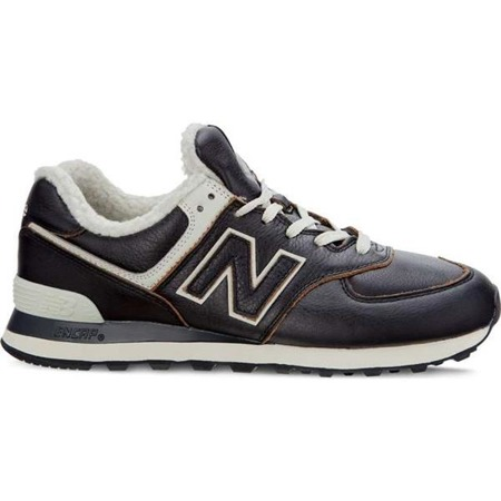 New Balance ML574WNE DARK BROWN - Buty Męskie Sneakersy