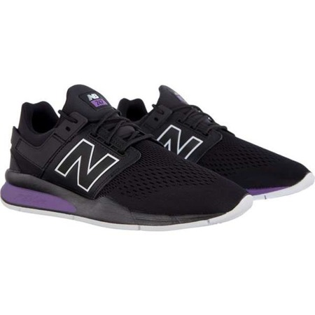New Balance MS247TO TRITIUM PACK BLACK WITH FADED VIOLET - Buty Męskie Sneakersy