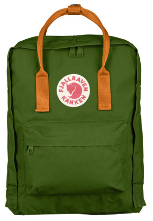 Plecak Fjallraven Kanken Leaf Green - Burnt Orange